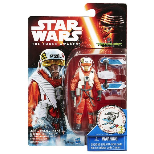 X-WING PILOT ASTY STAR WARS THE FORCE AWAKENS
